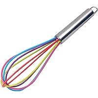 Manico in acciaio INOX silicone balloon Wire Egg Beater frusta miscelatore per sfumare  Whisking  Beating Mescolando