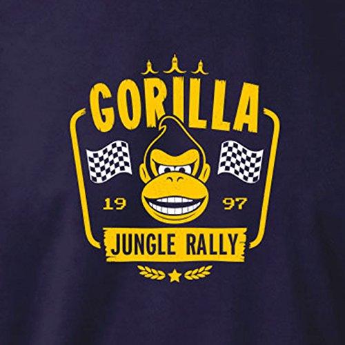 TEXLAB - Gorilla Jungle Rally - Stoffbeutel Schwarz