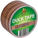 Duck Tape Klebeband in Holzoptik 48 mm x 9,1 m Geweband zum Basteln, Verpacken und Verschönern