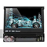 WinCE 6.0 Universalkopf Ger?t Einzel Din Autoradio GPS Navi DVD Player 7.0 '' Dash Unterst¨¹tzung GPS / Navi / USB / SD / Subwoofer-Ausgang / Cam-in / Bluetooth / Lenkrad-Steuerfunktion / FM / AM Radio Receiver Stereo Multimedia Station Navigation System mit freien 8GB SD-Karte