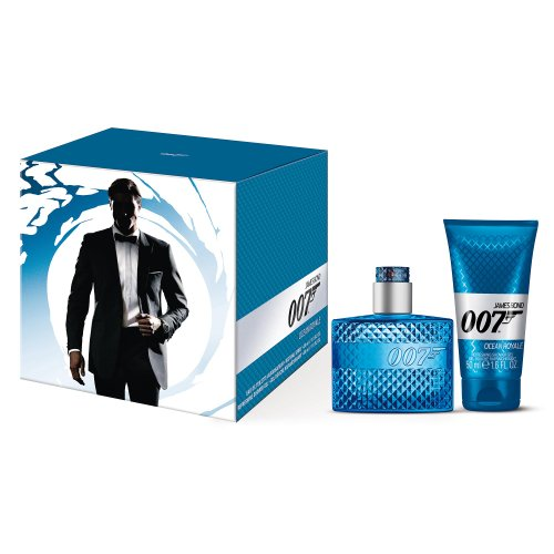 James Bond 007 Ocean Royal homme/man, Geschenkset (Eau de Toilette, 30 ml+Shower Gel, 50 ml), 1er Pack (1 x 1 Stück)