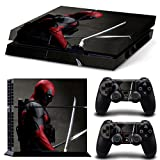 GameCheers PS4 Console and DualShock 4 Controller Skin Set - SuperHero - PlayStation 4 Vinyl
