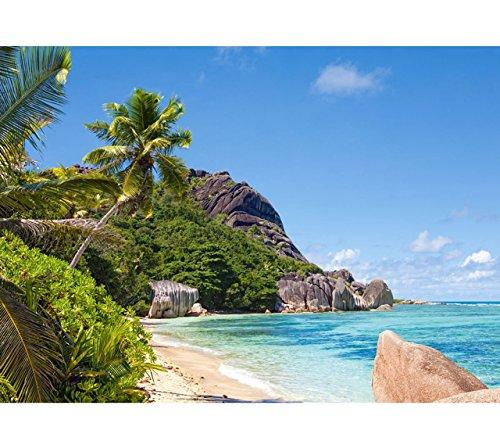 Preisvergleich Produktbild PUZZLE 3000 Teile - Seychellen Strand Ozean Paradies Seschellen Strand Tropical - Urlaub Südsee Flugreise / Insel Traumurlaub & Trauminsel