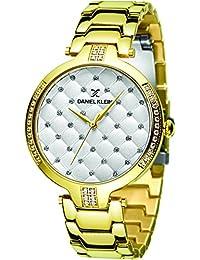 Daniel Klein Analog Silver Dial Women's Watch-DK11324-3