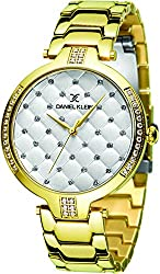 Daniel Klein Analog Silver Dial Womens Watch-DK11324-3
