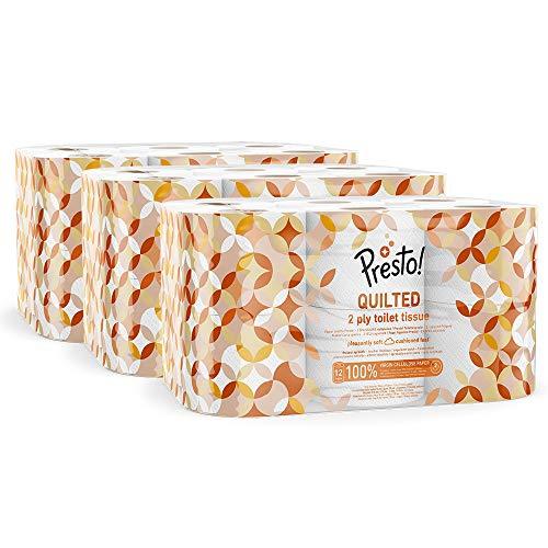 36 rollos de papel higiénico Amazon Presto! por sólo 14,69€