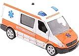 Krankenwagen Supersportwagen mit Licht und Ton 17 cm