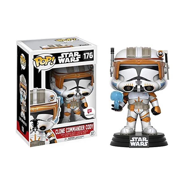 Funko Pop Comandante Clon Cody (Star Wars 176) Funko Pop Star Wars