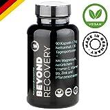 Natürliches Schlafmittel mit L-Tryptophan, Kamille, Vitamin C, B6, Ashwaghanda, Magnesium | starke pflanzliche Formel ohne Chemie für mehr Melatonin und guten Schlaf | 90 vegane Kapseln - rezeptfrei