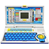 Jajoria English Learner Laptop for Kids with 20 Activity, Led Screen (Multi Color)