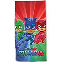 PJ Masks Playa – Toalla – Toalla de baño 70 ...