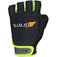 GRAYS Touch Left Guantes, Adultos Unisex, Black/Fluo Yellow, XS