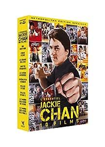 Coffret l'essentiel jackie chan 10 films