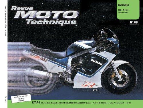 Revue technique de la Moto, numéro 66 : Suzuki GSx R 1100
