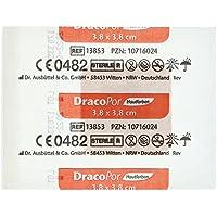 DRACOPOR Wundverband 3,8x3,8 cm steril hautfarben 1 St Pflaster preisvergleich bei billige-tabletten.eu