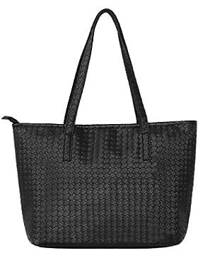 AuBer Shopper Damenhandtaschen Handtasche Schultertasche Damen Cross-body Große Umhängetaschen Einkaufstasche...