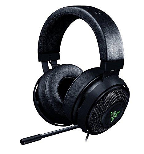 Razer Kraken 7.1Chroma Sound USB Gaming Headset–7.1Surround Sound mit einziehbarem Digital Mikrofon und Chroma Beleuchtung 7.1 Chroma 50mm Drivers