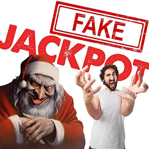 Scherzartikel - Fake Lotto Gewinn - Jedes Los beinhaltet einen Jackpot - Der ultimative Streich! Das perfekte Weihnachtsgeschenk! Realistisch wirkender Lotto MEGA Jackpot! (3er Pack)