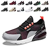Air Baskets Chaussures Homme Femme Outdoor Running Gym Fitness Sport Sneakers Style Multicolore Respirante 4BlackPinkWhite45EU