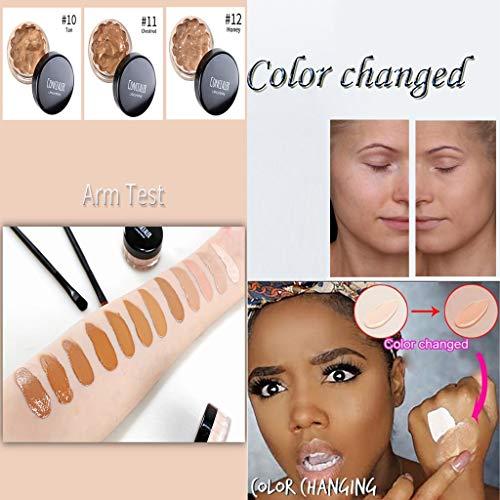 Fit Me Concealer,Langmanni Four-Pack Lippenstiftanzug Matte Moisturizing Lipstick Coloured Healthy,Mehrfarbig -