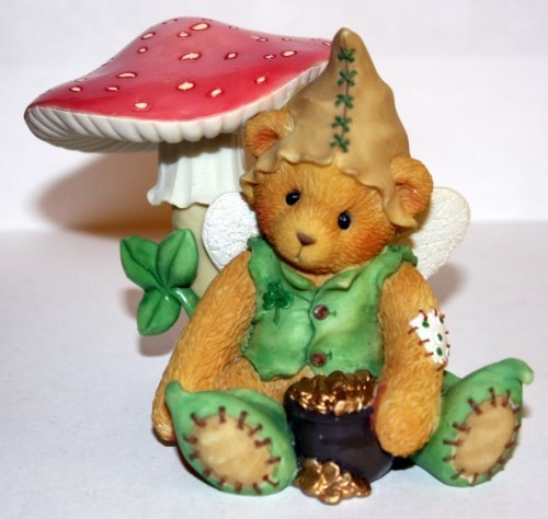 Cherished Teddies RYAN Im Green with Envy for You Leprechaun Figurine 203041 by Cherished Teddies