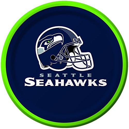 Unbekannt Creative Converting 8Zählen Seattle Seahawks Papier Dessertteller (Supplies Party Superbowl)