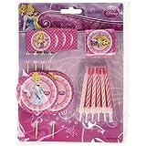 Amscan - Kit de decoración para tartas, diseño de Princesas Disney