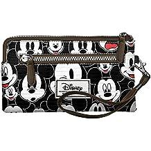 bebc49e7e Karactermania Disney Classic Mickey Visages Bolsas de Aseo, 21 cm, Negro