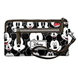 Disney Classic Mickey Visages Kulturtasche, 21 cm, Schwarz (Negro)