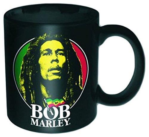 empireposter - Marley, Bob - Logo Face - Größe (cm), ca. Ø5,5 H6,7 - Mini-Tassen, NEU - Bob Marley Boxed Mini Mug: Logo Face - Beschreibung: - Mini Keramik / Espresso Tasse, bedruckt, Fassungsvermögen 120 ml, offiziell lizenziert, spülmaschinen- und mikrowellenfest -