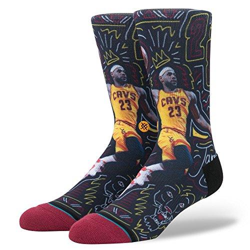 James Sketchbook Socken burgundy Größe: L Farbe: red (Kobe 6 Basketball-schuhe)