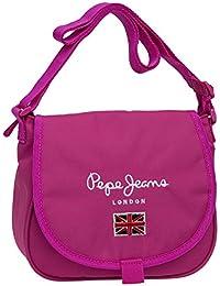 Pepe Jeans Bandolera con Solapa, Color Rosa