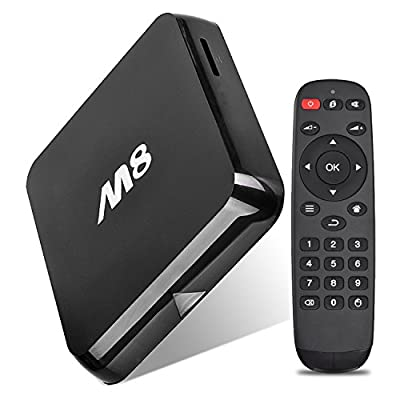 Generic M8 Quad Core Amlogic S802 Android TV Box Streaming Media Player with Ram 2G Flash 8G Kodi (XBMC) and 4K