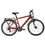 Yazoo Sport 2.6 Jungen 26 Zoll 21 Gang Kettenschaltung Jugend Fahrrad 2017, Rahmenhöhe:48 cm, Farbe:orange
