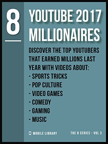 YouTube 2017 Millionaires 8: Top Youtubers  [ The 8 Series - Vol 3 ] (Video Editing Tools (8 Series)) (English Edition)