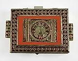 Bonding Moment Minakari Dryfruit Box, Snack Box, Serving Tray, Decorative Platter, Chocolate Box, Sweet Box with Traditional Handmade Design
