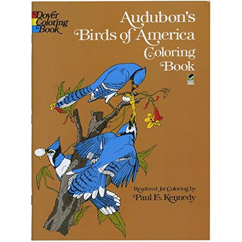 Audubon's Birds of America Coloring Book (Dover Nature Coloring Book) - Audubon Birds Of America