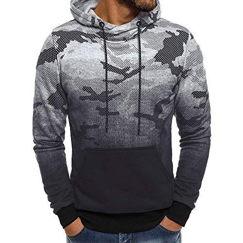 Subfamily Veste à Capuche Homme Sweat-Shirts Hommes T-Shirt Manches Longues  Outwear Blouson 89851e4c4c8