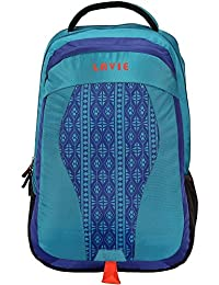 Lavie Vogue Turquoise Laptop Backpack (LAVIE_551066-Turquoise)