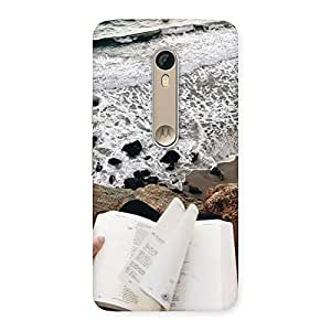 Neo World Reads And Ocean Back Case Cover for Motorola Moto X Style