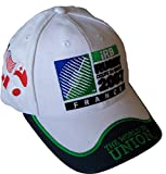 Casquette Officielle IRB The World in Union - World Cup 2007 - Coupe du Monde de Rugby 2007 -