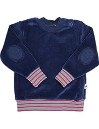 Baby Kinder Nicky Sweatshirt Bio-Baumwolle 6 Farben Wählbar GOTS Jungen Mädchen Langarmshirt T-Shirt Gr. 62/68 bis 116