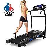 Gym Master Pro X-TECH 14K 1300W Motorised Folding Treadmill Running Machine With Large Touchscreen...