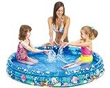 Jilong Tropical Fish Pool Ø 157 x 25 cm Kinderpool Planschbecken Schwimmbecken Kinder Schwimmbad für Garten und Terasse