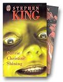 coffret stephen king coffret 3 volumes tome 1 carrie christine shining