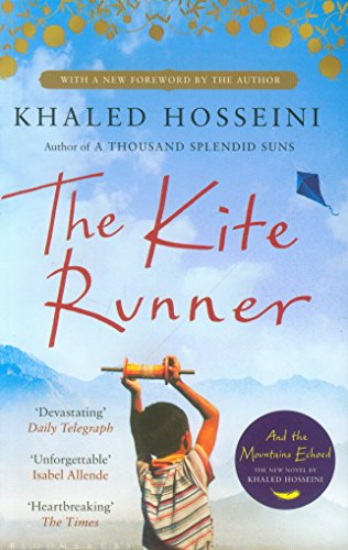 Book cover for The Kite Runner