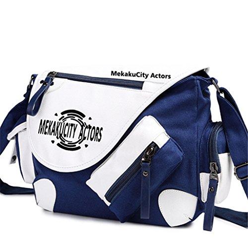 Yoyoshome giapponese anime Cosplay zaino Zaino Crossbody messenger bag borsa a tracolla nero Fairy Tail 1 Kagerou Project 3