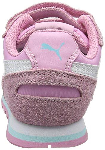 Puma St Runner Nl V Ps, Sneakers Basses Mixte Enfant Rose (Prism Pink-puma White 16)