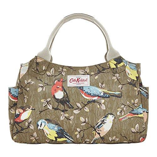 cath-kidston-new-matt-oilcloth-day-hand-bag-garden-birds-olive