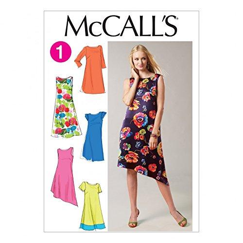 Unbekannt McCall 's Nähmuster 6465Damen Kleid Größen: 8-10-12-14-16